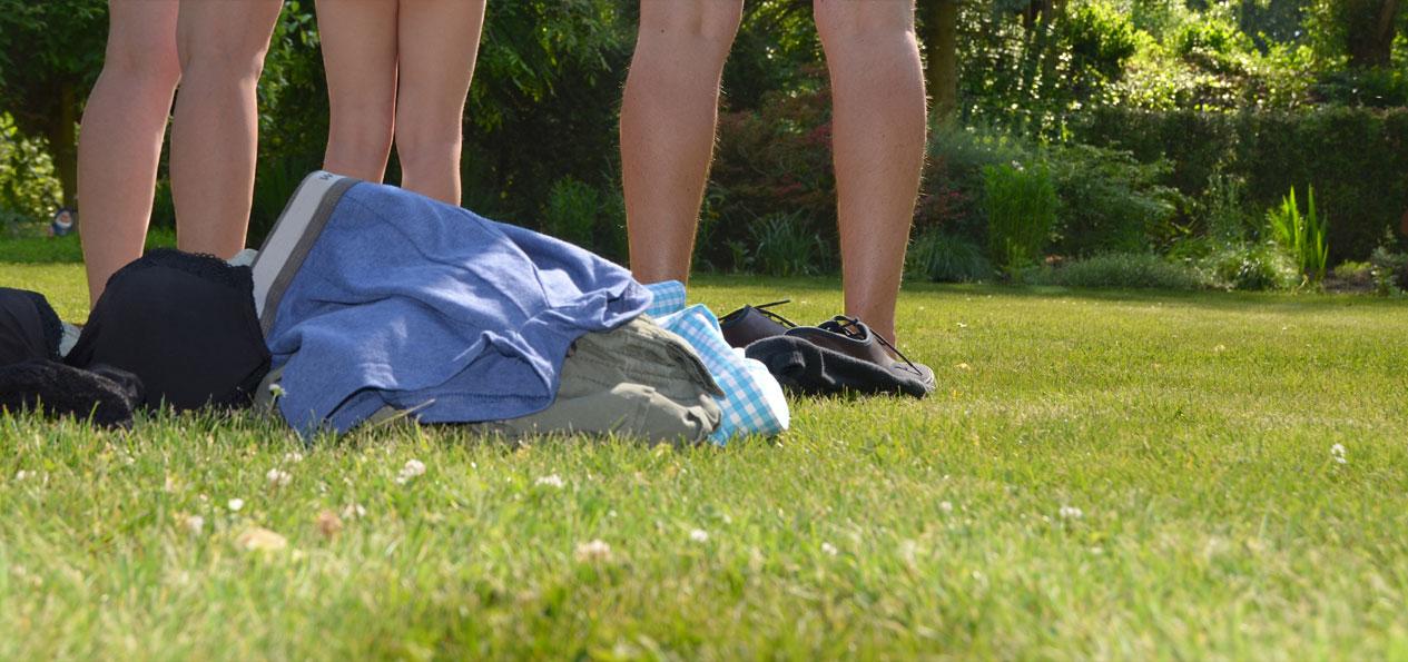 Nackt fkk camping